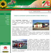 Content Management System AGROTRADE GROUP